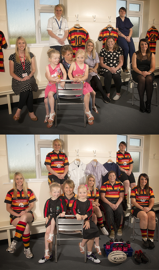 Southport RFC Ladies rugby kit
