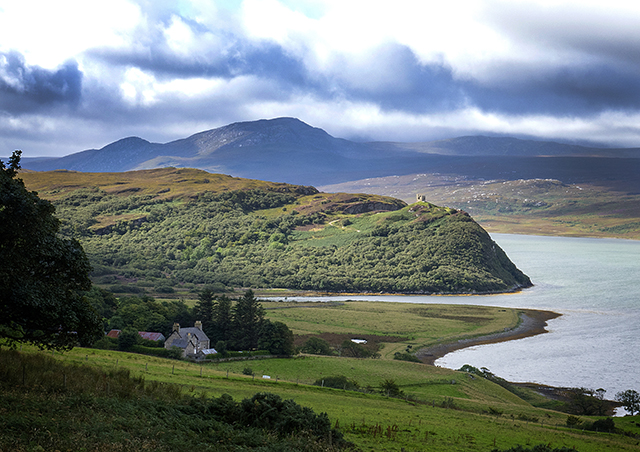 castle, varrich, tongue, kyle, Scotland, West