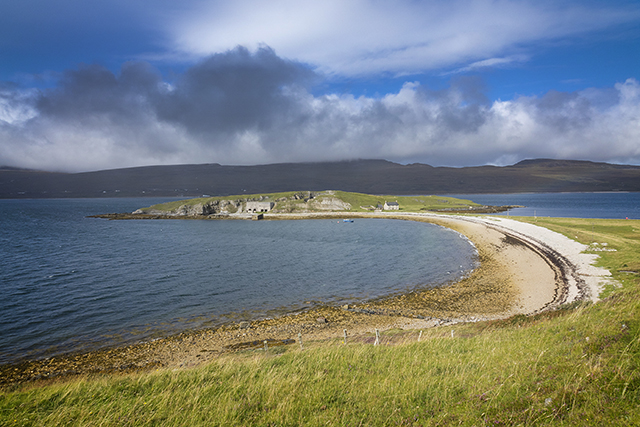 loch, sea, Scotland, north, coast, eriboll