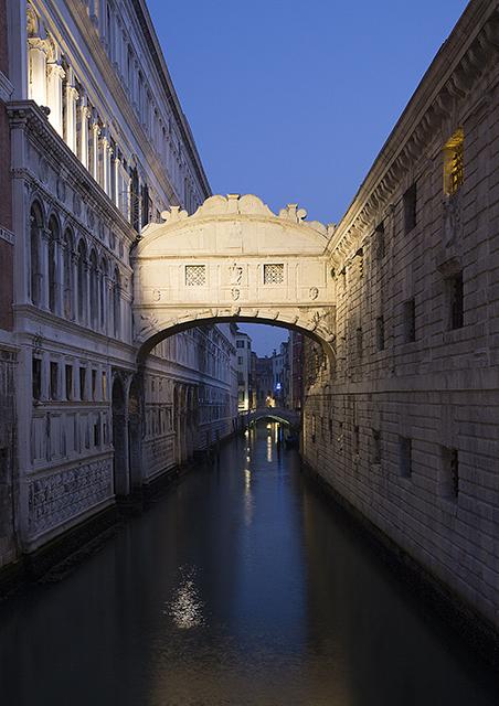 Bridge Sighs Venice